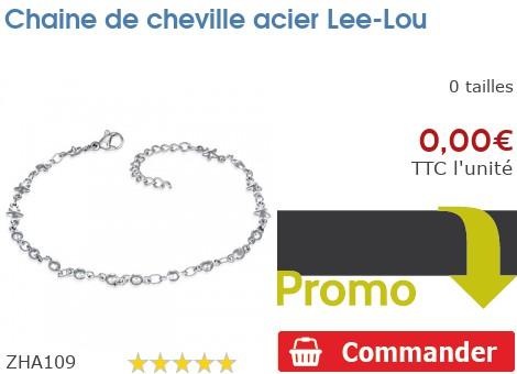 Chaine de cheville acier Lee-Lou