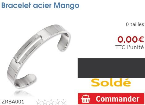 Bracelet acier Mango